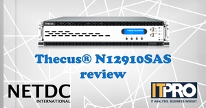 Thecus® N12910SAS reviewed by IT Pro, UK