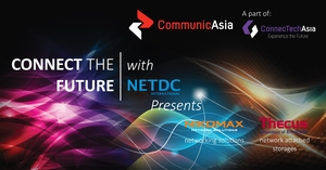 Welcome to NETDC booth in CommunicAsia