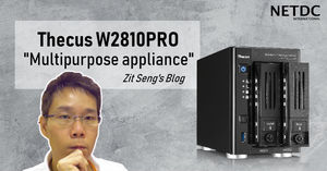 Thecus® W2810PRO reviewed by Zit Seng's Blog, Singapore