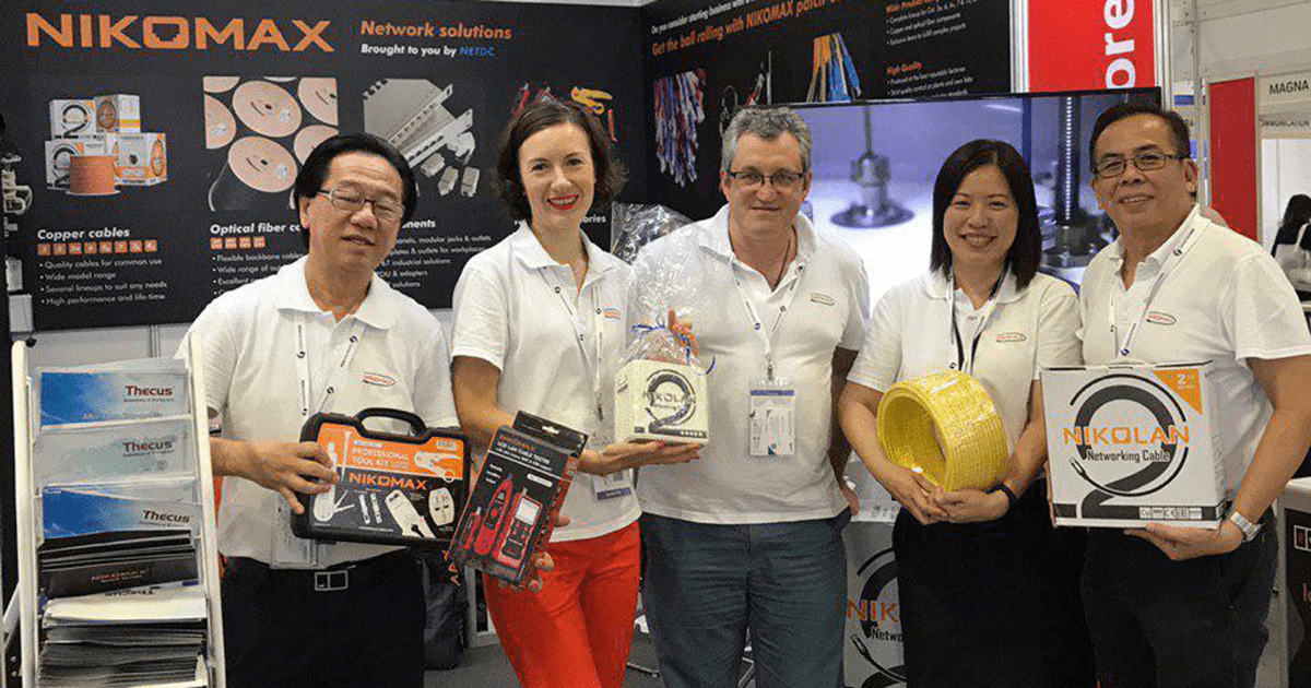 NIKOMAX at CommunicAsia 2019: a former newcomer feels stronger now