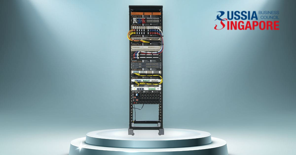 NIKOMAX Demo-rack in RSBC